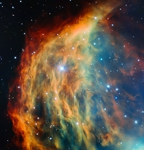 Medusa Nebula Captured By ESO Telescope In Chile