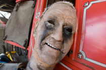 Meet Cyborg John Wayne part  The Western Village is an abandoned theme park in Japan that has loads of creepy animatronic characters