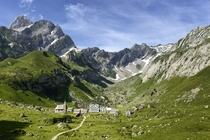 Meglisalp Switzerland A surreal summer-only village high in the Alpstein