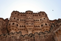 Mehrangarh Fort in Jodhpur India