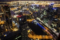 Melbourne Australia tilt-shifted