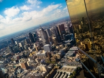 Melbourne view from Eureka Tower