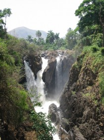 Menchum Falls in Cameroon