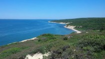 Menemsha Hills Beach Lookout Marthas Vineyard