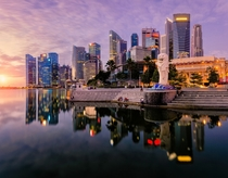 Merlion Park Singapore  By Randy Ng