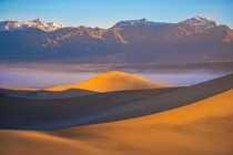 Mesquite Flats Sand Dunes - Death Valley National Park CA - USA