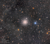 Messier  Globular Cluster with IFN