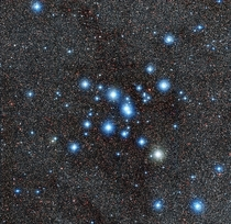 Messier  star cluster captured by the MPGESO  m Telescope  hi res in comments