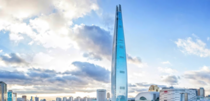 -metre tall Lotte World Tower is the tallest building in South Korea and the fifth tallest in the world