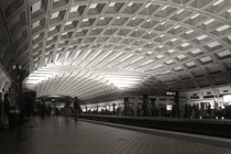 Metro Center station Washington DC
