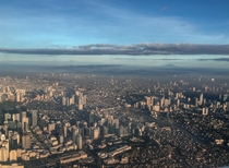Metro Manila from Above Philippines