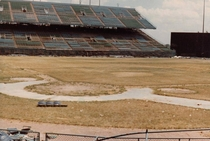 Metropolitan Stadium in  home of the Minnesota Twins and Vikings from  to  Bloomington MN Photo by Robin Hanson full album in comments