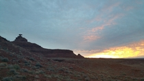 Mexican Hat Sunset
