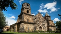 Miagao Fortress Church Iloilo Philippines which doubled as a defensive tower against Muslim pirates