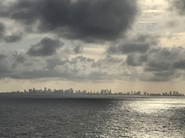 Miami Florida from a cruise ship