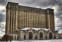 Michigan Central Station by Jean-Pierre Lavoie