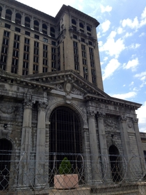 Michigan Central Station Detroit  OC