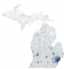 Michigan defined only by its road infrastructure x-post from rMichigan
