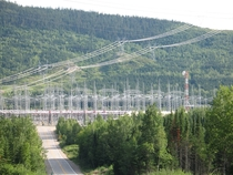 Micoua  kV substation in northern Quebec