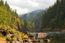 Middle Fork of the Clearwater River Idaho