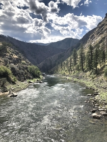 Middle Fork of The Salmon River Idaho OC