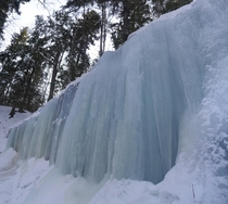 Midland Ice Caves New Brunswick Canada