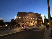 Midnight at the colosseum