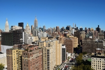 Midtown Manhattan from a rooftop in Stuyvesant Square