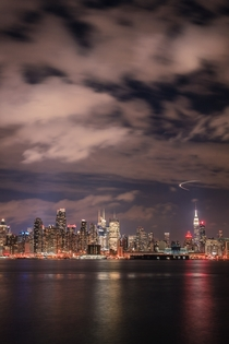 Midtown Manhattan from Weehawken