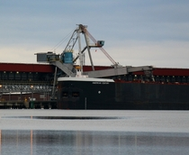 Midwest Energy ship coal loading terminal Superior WI