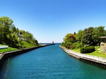 Might not be the beloved Cinque Terre Italy--but I think Charlevoix Michigan USA is beautiful