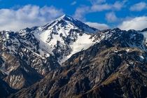 Mighty Mount Manakau Kaikoura Ranges New Zealand