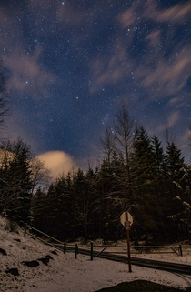 Mighty Orion is back The foothills of the Cascades are now sprinkled with snow meaning we are officially out of Milky Way season
