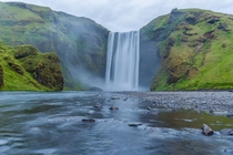 Mighty Skogafoss Southern Iceland