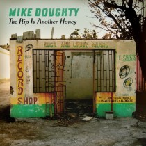 Mike Doughtys newest album has a pretty cool abandoned bombed out record store in Jamaica  x