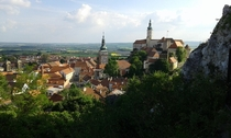 Mikulov Czech Republic  x The little Italy of small Czech towns