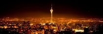 Milad Tower in Tehran at night x-post rpics