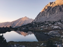 Mile  on the John Muir Trail OC