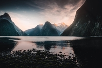 Milford Sound at Sunrise NZ  IGmongandarren