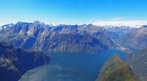 Milford Sound New Zealand - as seen from the iconic Mitre Peak