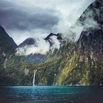 Milford Sound New Zealand  x