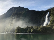 Milford Sound on New Zealands South Island  OC