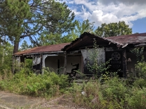 Military Housing walled off and abandoned in the mid s Central Alabama AIC OC x