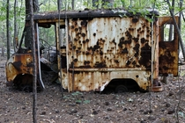 Milk Mans Bitter End The rust pattern on this old delivery truck fascinated me Georgia By wombat