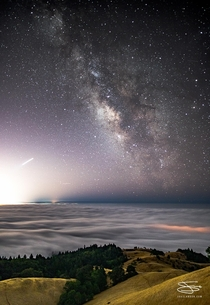 Milky Skies over San Francisco