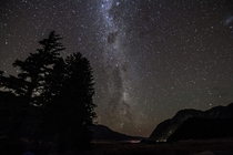 Milky Way at AorakiMount Cook National Park New Zealand