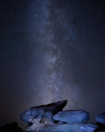Milky Way at Horseshoe Bend AZ