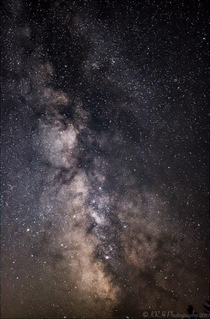 Milky Way core over Buxton OR