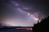 Milky Way from a pier in North Lake Tahoe last weekend