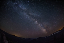 Milky Way From Mount Rainier Washington